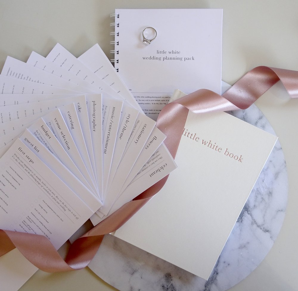 Unbridely and The Little White Book Wedding Diary & Organiser