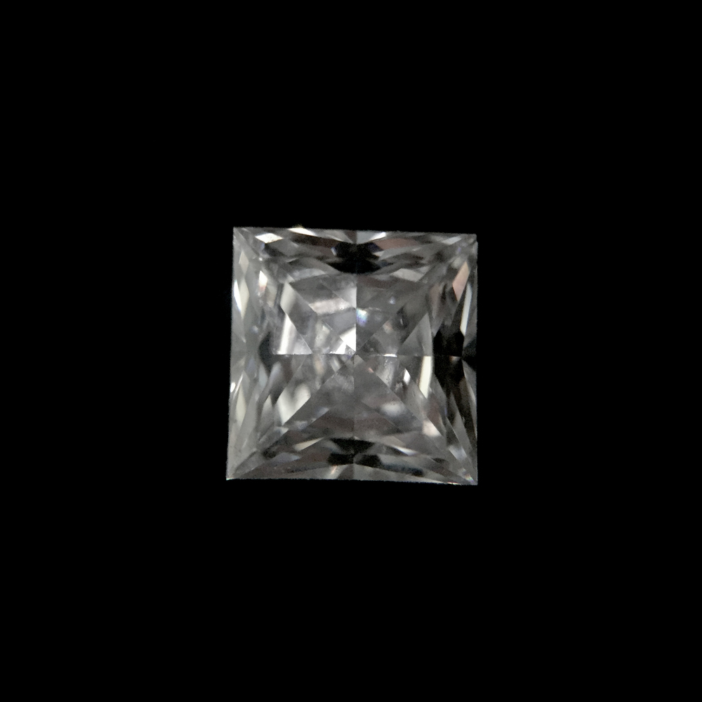 Princess Cut  With a square shape, the princess cut diamond is gaining popularity for those looking for a more modern and sophisticated design. However, princess cut diamonds tend to appear smaller in size when compared to another diamond shape of the same weight.