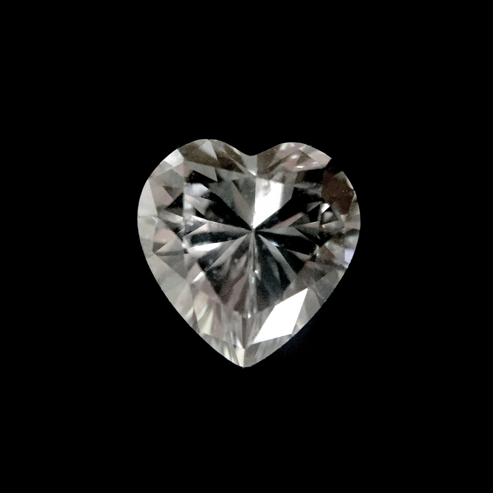 Heart Shape  The heart shape, when compared with other diamond shapes of the same carat weight, appears one of the largest. However, we generally do not recommend choosing this shape unless you know for certain your partner's preference.