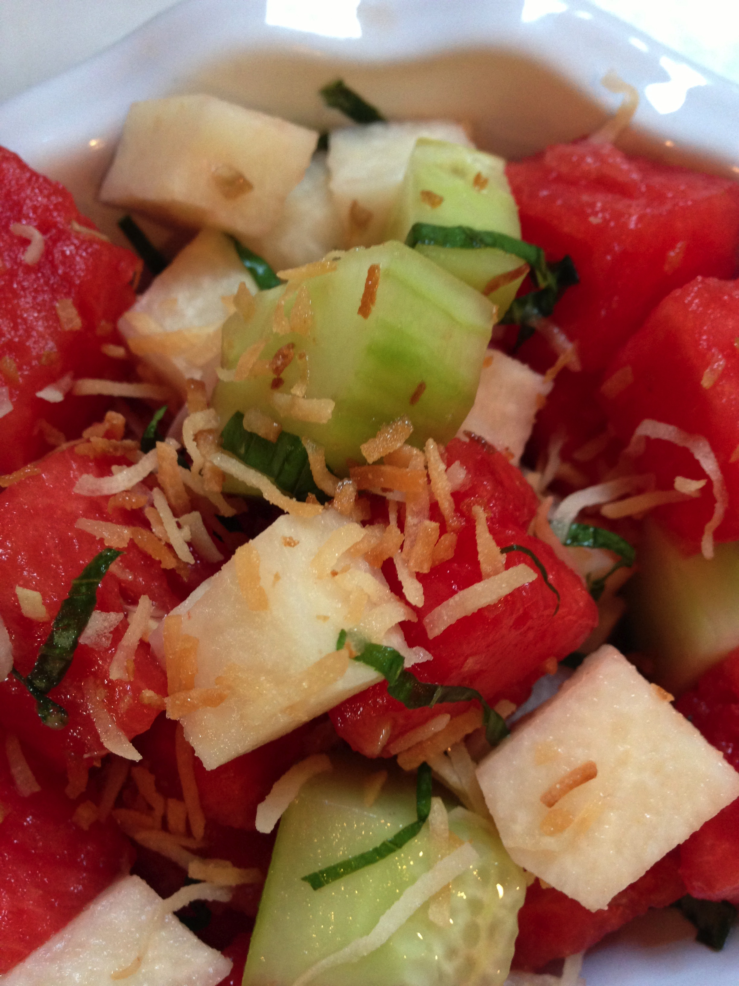 Sue's Watermelon Salad