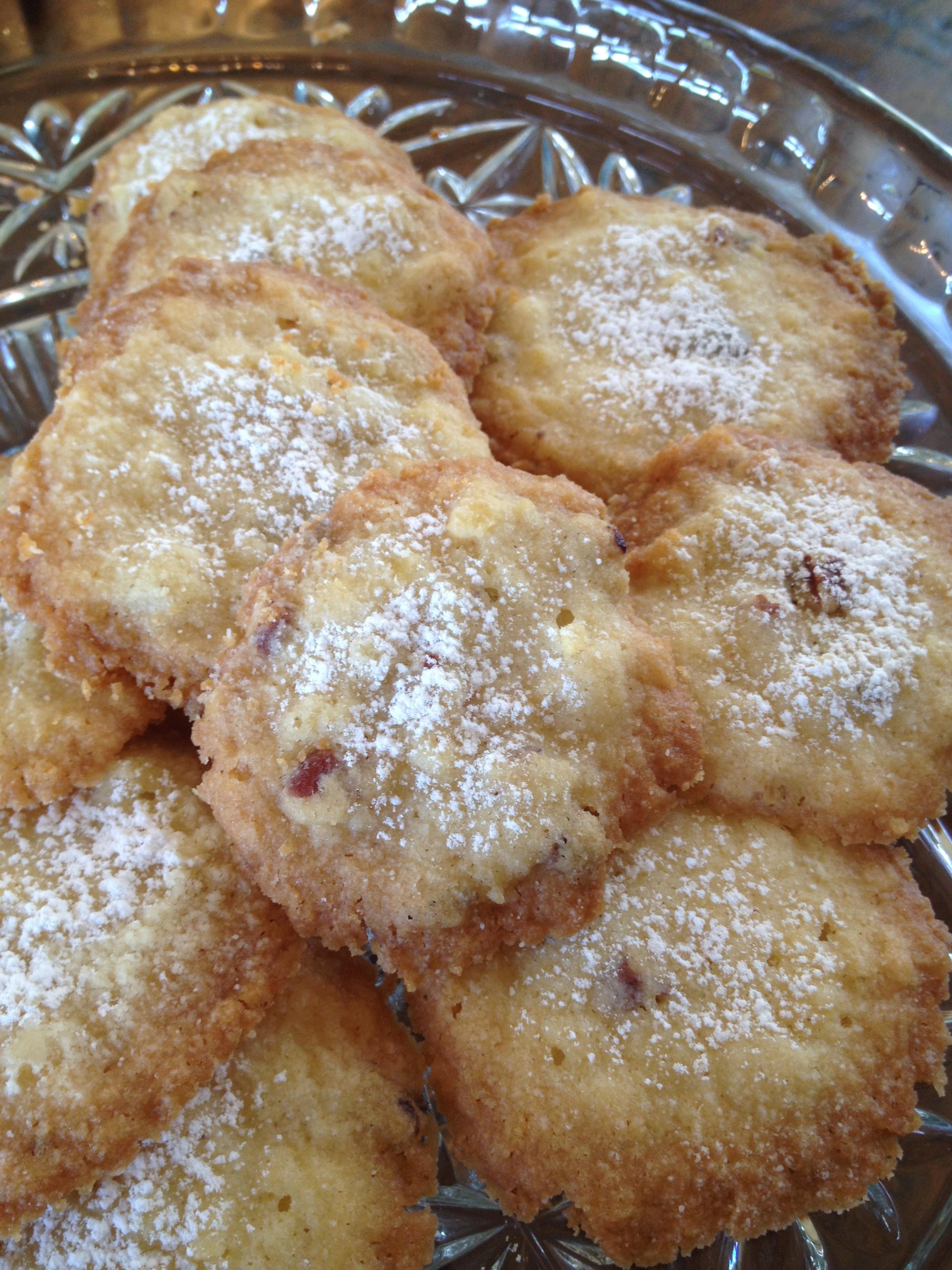 Grandma Flora's Potato Chip Cookies