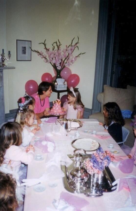 Pretty Pink Princess Party.