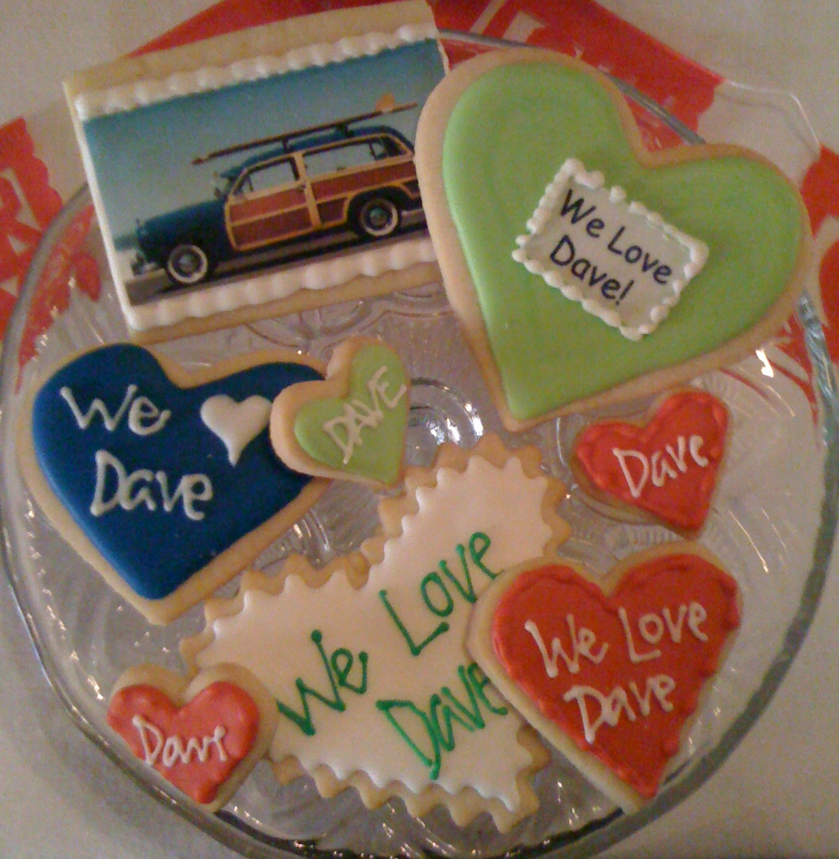 Cookies for DEN by Solvang Bakery.