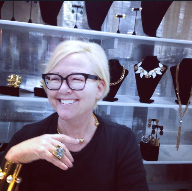 Carla and her Camille K jewels.
