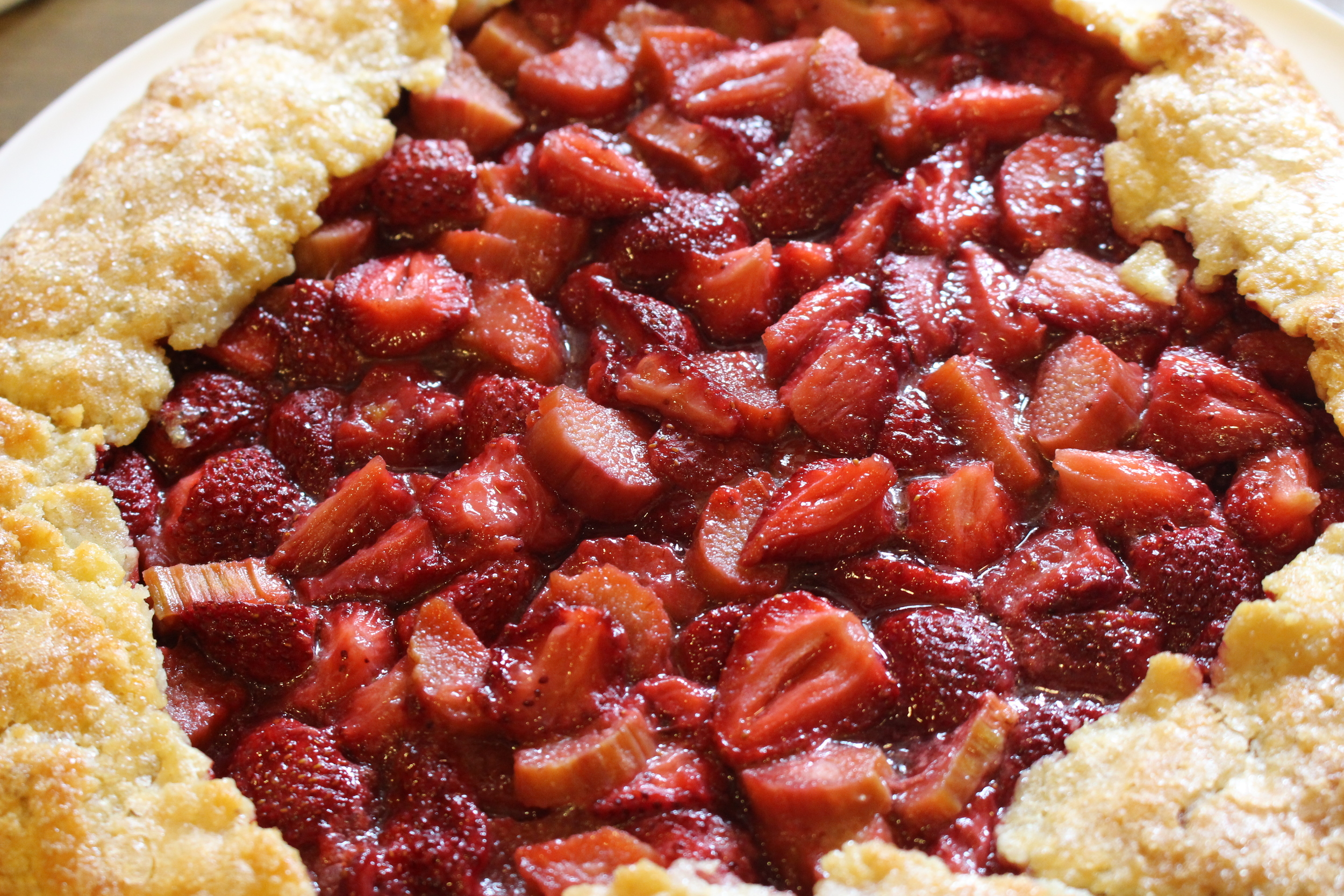Elizabeth's Strawberry Rhubarb Pie