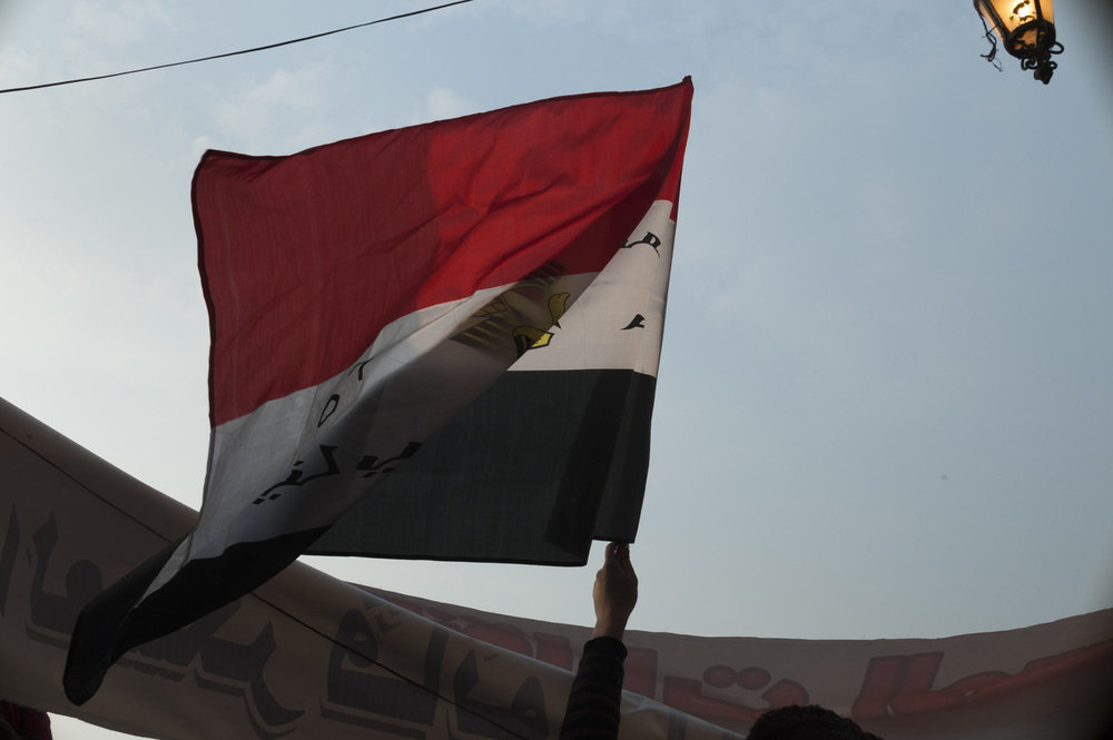 Protests continue in Cairo's Tahrir Square on November 26th, two days before national elections.