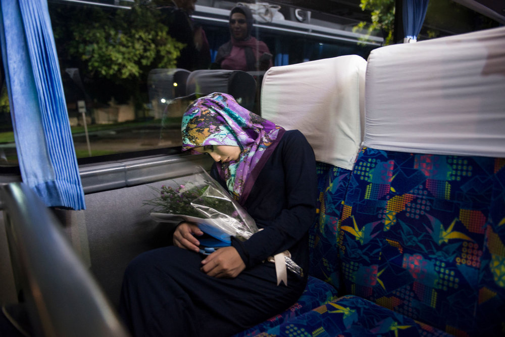 Miss Malaysia falls asleep while holding her flowers on November 21st, 2014 in Yogakarta, Indonesia.