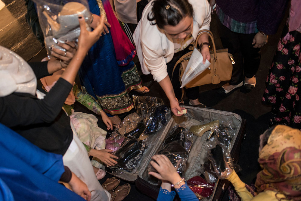 The finalists are given their shoes and begin rehearsals for the Grand Finale on November 20th, 2014 in Yogakarta, Indonesia.