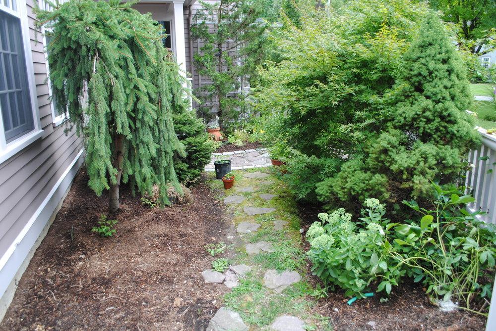 Entrance garden, Concord, MA
