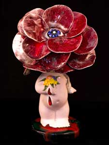 My Daughter Flower . Porcelain.