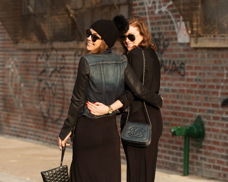 Westward Leaning shades look great on sisters. Check our The Glamourai's stunning as usual photo set, {Sisters Sync}