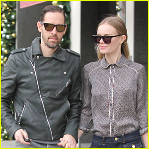 Just Jared found Michael Polish wearing Westward Leaning shades while out and about in Beverly Hills with his fiance Kate Bosworth.