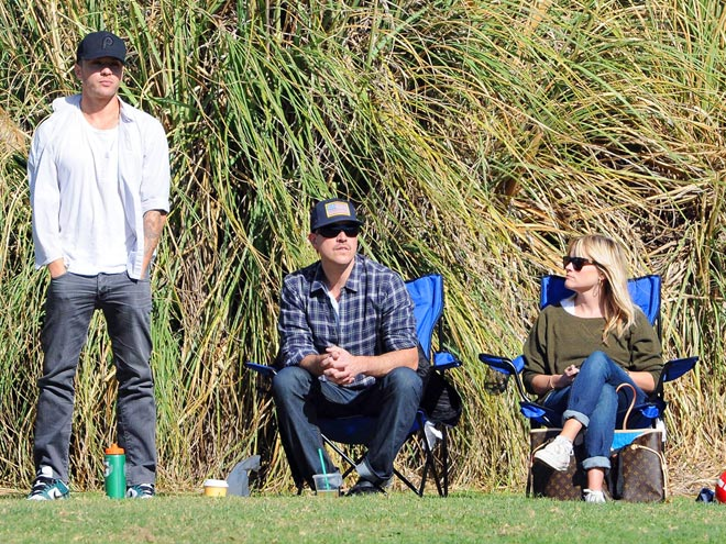 People Magazine found Reese Witherspoon in Westward Leaning at her son's soccer game. See more here.