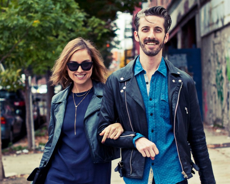 Westward Leaning is for cute couples. See the rest of The Glamourai's photo shoot here.