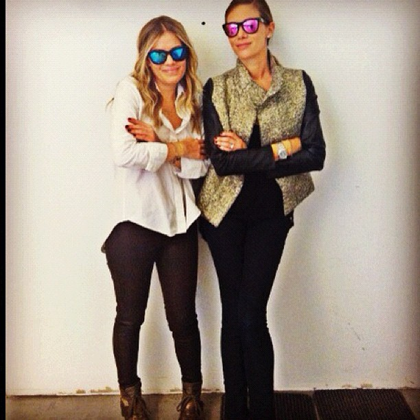 W\L has made it to Wink in NYC! Here's even more proof that Westward Leaning is for besties. (Photo via @ winknyc)