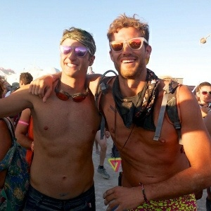 Before the Rebecca Taylor show, there was Burning Man. The Color Revolutions do it all.