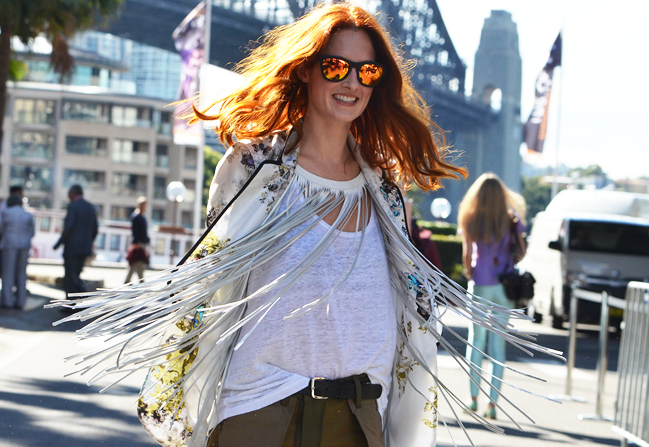One of our favorite W \ \ L street style photos!