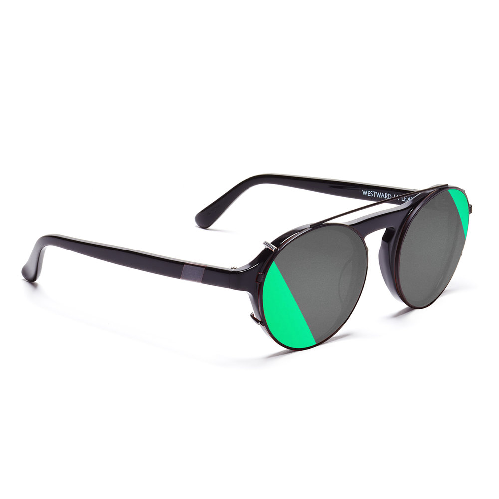SCL.1 (comes standard with the DYAD S.1) Clip: Leaning Horizon (Green) \ Black Matte