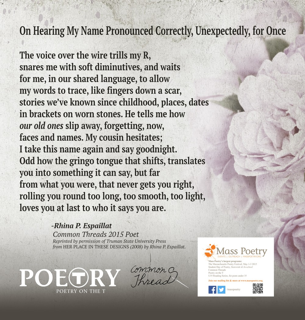 Rhina P. Espaillat Poetry on the T.jpg