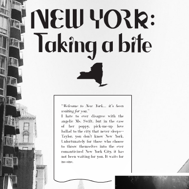"""Welcome to New York"" - Article Preview"