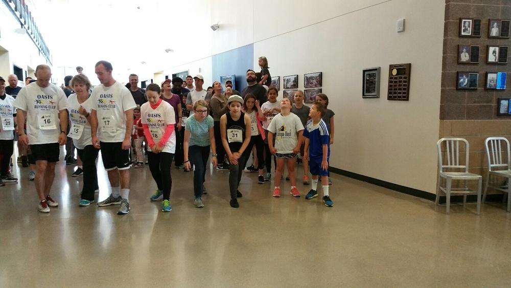 Running in the halls!
