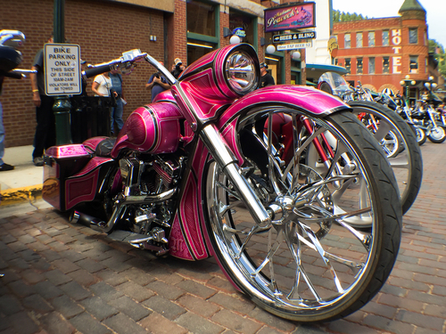 Rent a Motorcycle in Sturgis