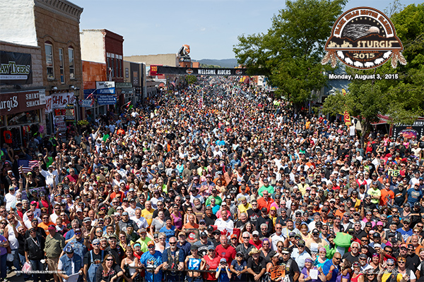 The Official 2015 Group Photo, Sturgis Rally, SD