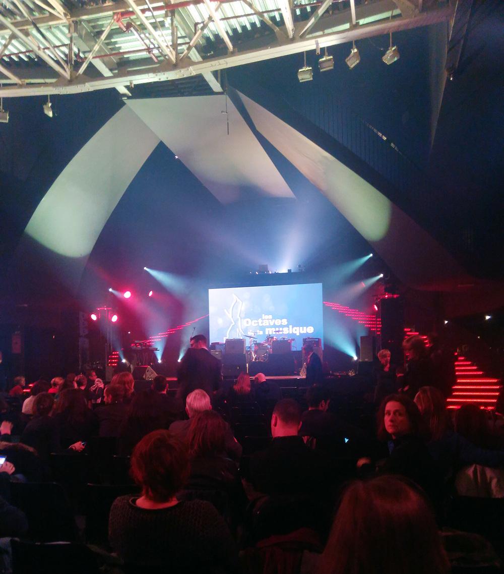 2016比利时OCTAVES音乐大奖颁奖礼现场