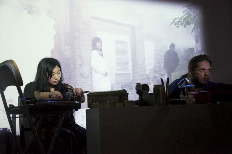 """TanBo跨界演出-""""迷失家里""""炭叹实验影像展+即兴音乐演出,北京.jpg"""