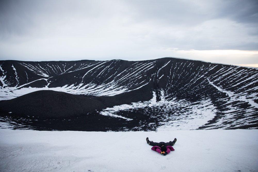 Hverfjall, Lake Myvatn, Iceland