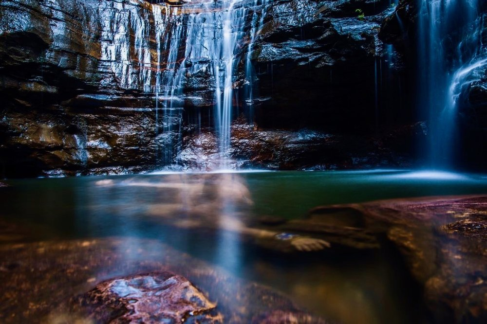 Empress Falls, Blue Mountains, Australia |  Jamen Percy Photography