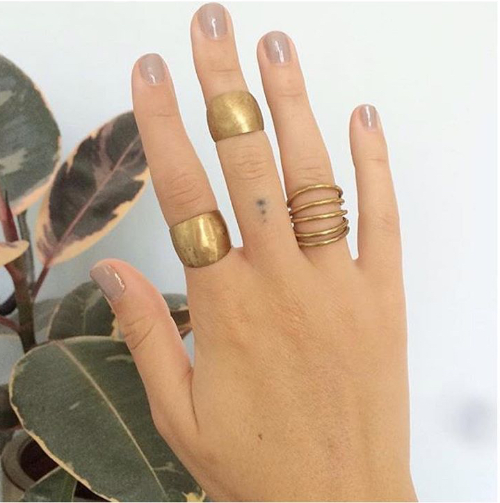 Stacked Rings -