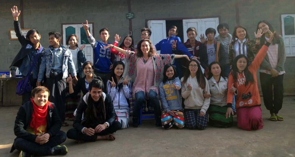 Personal Development Workshop for Taunggy Youth Center, Shan State, Myanmar. January 2018