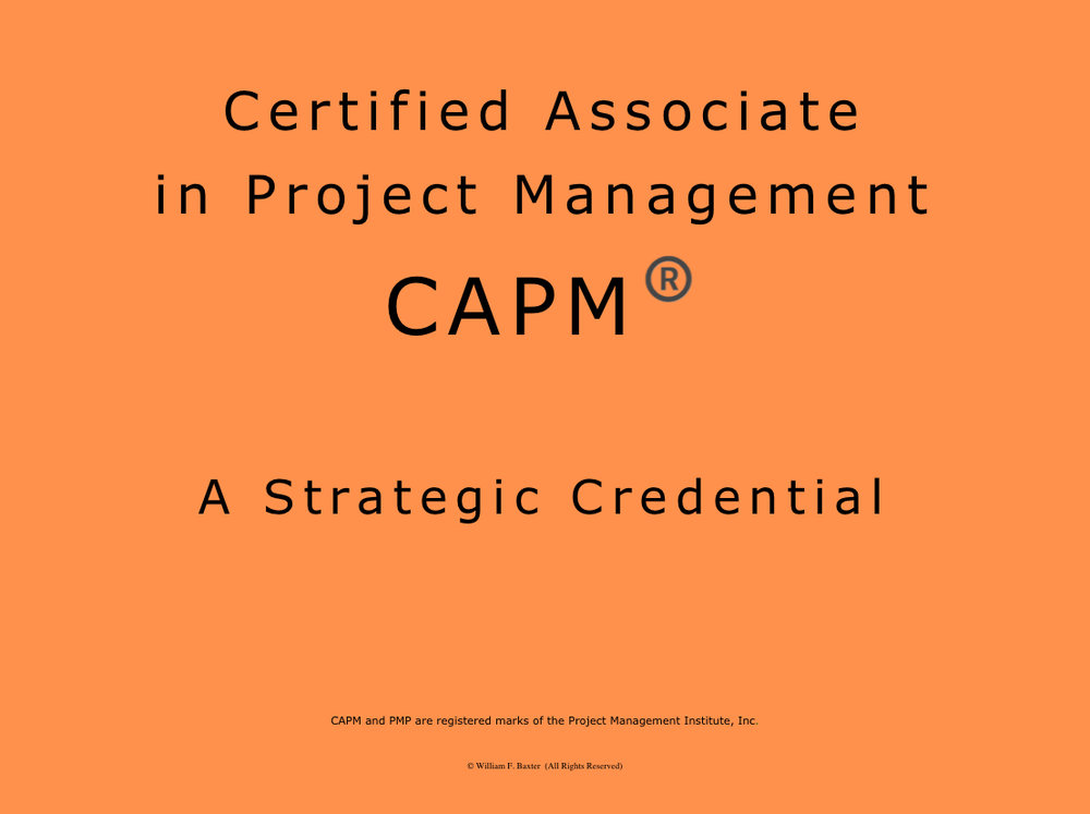 Why Seek The Capm Certification
