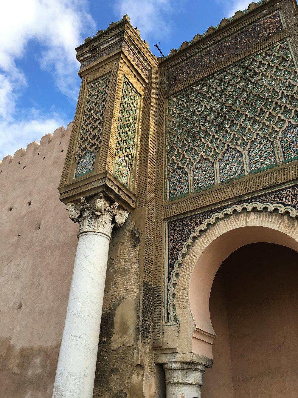 Meknes - Bab Mansour 3.JPG