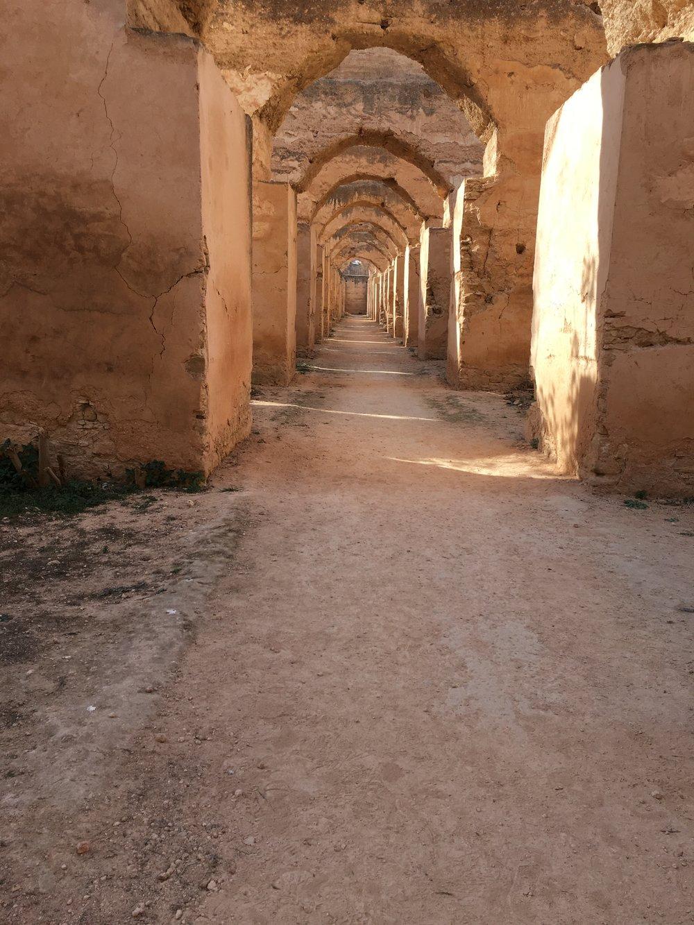 Meknes - Royal Stables 2.JPG