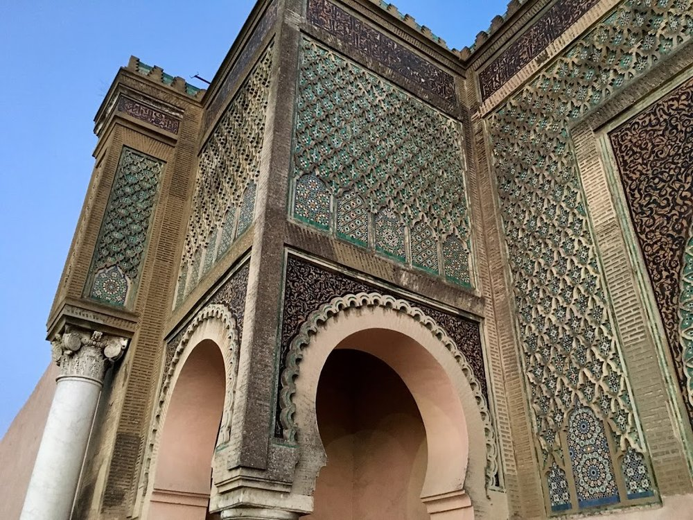 Meknes - Bab Mansour.JPG