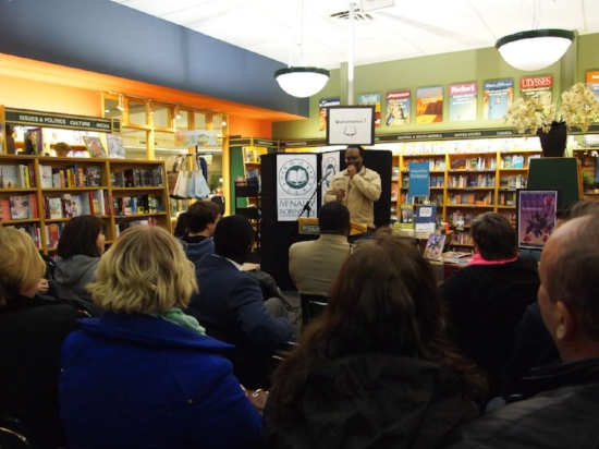 Book Signing at McNally Robinson in Winnipeg