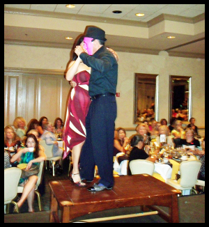 """Dancers dazzled the audience at the """"Dance with the WCR Stars"""" themed runway show last Friday."""