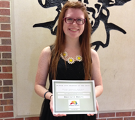 Brittany Burns - 2014 Scholarship Recipient