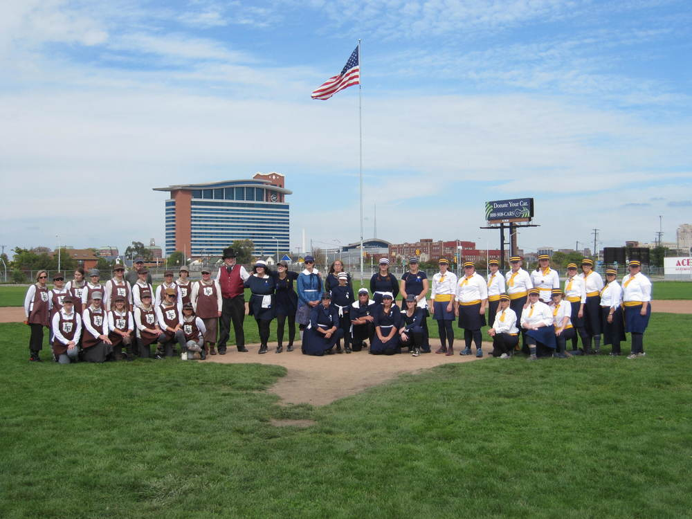 September 28, 2014 @Navin Field v. Detroit River Belles