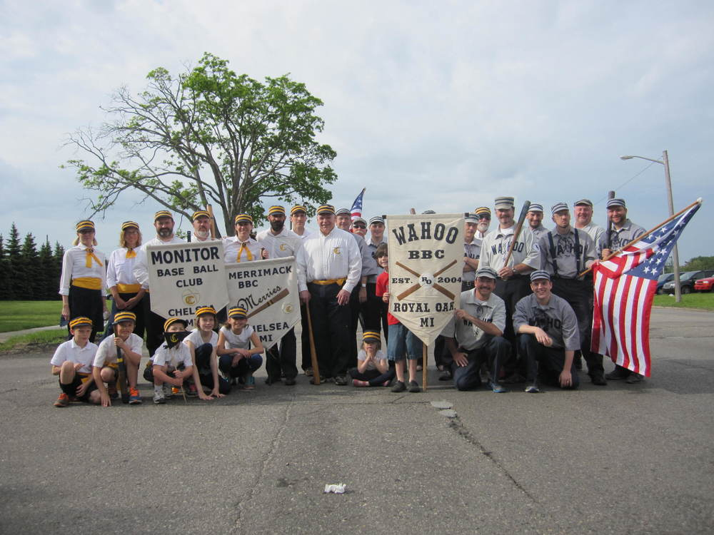 May 25, 2015 marching in Memorial Day parade, Royal Oak