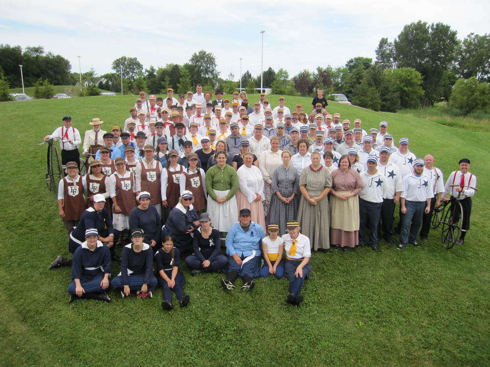 July 18, 2015 Ironclad Vintage Base Ball Festival @ Chelsea High School
