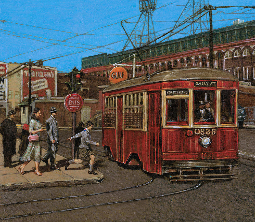 Catching The Trolley