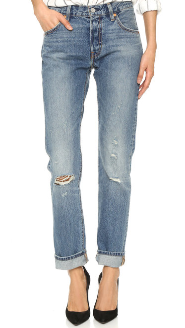 Stonewashed Levi's Vintage 501 Jeans