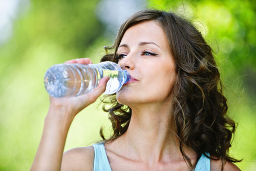 JUST KEEP DRINKING – WATER!