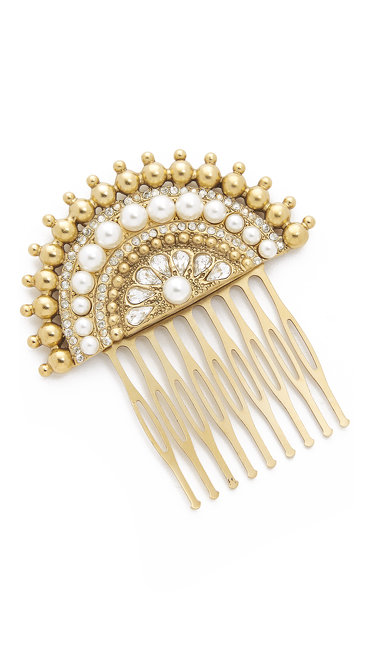 Marc Jacobs  Art Deco Hair Comb $200.00