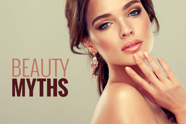 10 beauty myths that are totally false