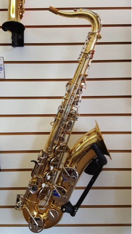 Yamaha Tenor Saxophone YTS200AD   This saxophone is the ideal student model! Equipped with nickel keys.  -A Charles Music exclusive!  Call for pricing.