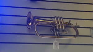 Yamaha Flugelhorn   Professional Flugelhorn  -Gold brass bell  -Monel pistons  Call for pricing.